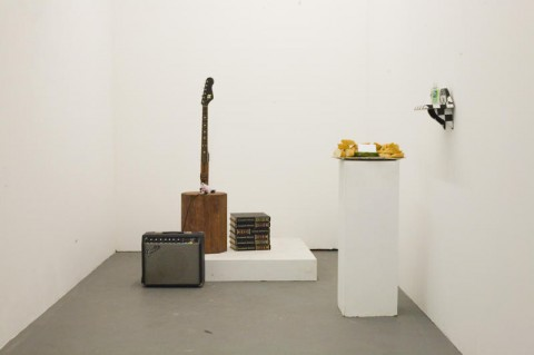 Guitchurn Installation at Big Medium Gallery