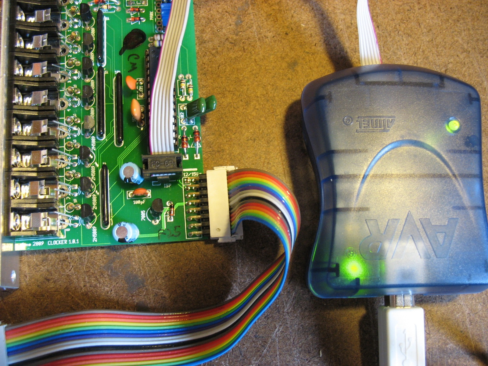 Updating firmware on AVR chips | 4ms Projects
